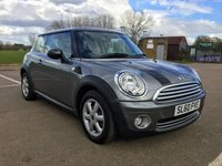 2010 MINI HATCH ONE 1.6 ONE GRAPHITE 3d 98 BHP £6295.00