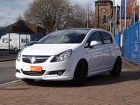 USED 2011 60 VAUXHALL CORSA 1.2 LIMITED EDITION 5d  FULL SERVICE HISTORY ~ REAR PARK SENSORS ~ AIR CON ~ PRIVACY GLASS ~ CRUISE CONTROL