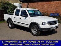 2005 FORD RANGER DOUBLE CAB WITH AIR CON & 5 SEATS £4295.00