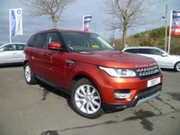 USED 2013 LAND ROVER RANGE ROVER SPORT 3.0 SDV6 HSE 5d AUTO 288 BHP 4x4 PANORAMIC ROOF, 7 SEATER, HEATED FRONT AND REAR SEATS, FULL SERVICE HISTORY