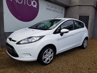 2011 FORD FIESTA 1.2 EDGE 5d 59 BHP £4450.00