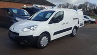 2012 PEUGEOT PARTNER 625 S WITH VARIABLE TRACTION CONTROL  £3995.00