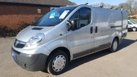 2010 VAUXHALL VIVARO 2900 SWB 115BHP WITH AIR CON & FULL ELECTRIC PACK £5795.00
