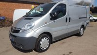 2010 VAUXHALL VIVARO 2900 SWB 115BHP WITH AIR CON & FULL ELECTRIC PACK £5995.00