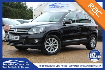 2012 VOLKSWAGEN TIGUAN 2.0 SE TDI BLUEMOTION TECHNOLOGY 4MOTION 5d 138 BHP £9500.00
