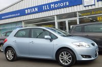 USED 2010 10 TOYOTA AURIS 1.33 TR VVT-i 5dr