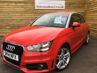 USED 2014 14 AUDI A1 1.4 TFSI S LINE 3d STYLE 1 OWNER