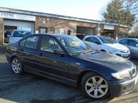 2001 BMW 3 SERIES 2.0 318I SE 4d 141 BHP £595.00