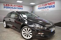 USED 2011 61 VOLKSWAGEN SCIROCCO 2.0 GT TDI BLUEMOTION TECHNOLOGY 2d 140 BHP Full VW Service History, Cheap tax, Bluetooth, Park sensors