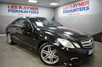 2011 MERCEDES-BENZ E CLASS 2.1 E220 CDI BLUEEFFICIENCY SPORT 2d AUTO 170 BHP £11499.00
