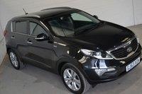 2013 KIA SPORTAGE 2.0 CRDI KX-3 SAT NAV 5d AUTO 134 BHP £13000.00