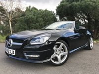 USED 2012 62 MERCEDES-BENZ SLK 2.1 SLK250 CDI BLUEEFFICIENCY AMG SPORT 2d AUTO 204 BHP AMG LINE!! NICE SPEC!! BLACK LEATHER WITH RED STICHING!! FULL MERCEDES SERVICE HISTORY!!