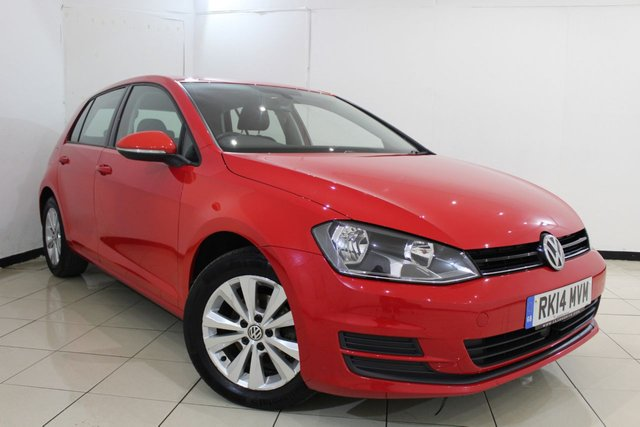 View our 2014 14 VOLKSWAGEN GOLF 1.6 SE TDI BLUEMOTION TECHNOLOGY 5DR 103 BHP
