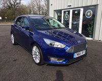 USED 2016 66 FORD FOCUS 1.5 TDCI TITANIUM X NAVIGATOR 120 BHP THIS VEHICLE IS AT SITE 1 - TO VIEW CALL US ON 01903 892224