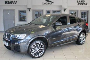 2016 BMW X4 2.0 XDRIVE20D M SPORT 4d AUTO 188 BHP £26970.00