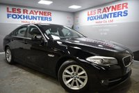 USED 2013 62 BMW 5 SERIES 2.0 520D SE 4d 181 BHP Full BMW Service History, 1 Owner, DAB Radio, Full Leather interior