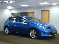 USED 2014 64 TOYOTA AURIS 1.4 D-4D EXCEL 5d 89 BHP++STUNNING COLOUR+++LOW MILEAGE++++
