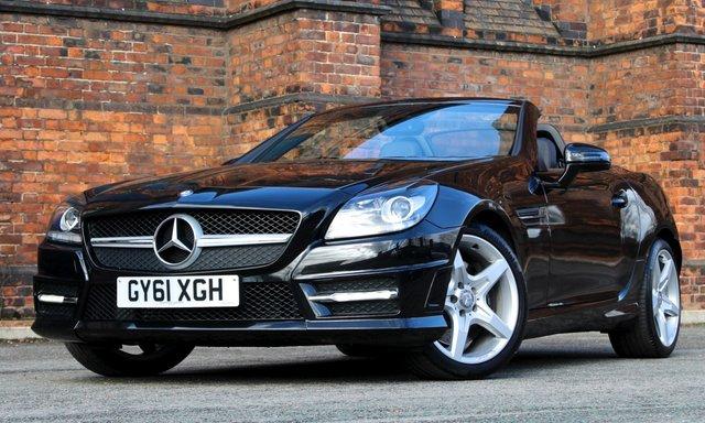 2011 61 MERCEDES-BENZ SLK 1.8 SLK200 BLUEEFFICIENCY AMG SPORT 2d 184 BHP