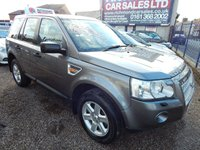 USED 2008 57 LAND ROVER FREELANDER 2.2 TD4 GS 5d AUTO 159 BHP AIR CONDITIONING, ALLOY WHEELS, FULL SERVICE HISTORY,