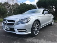 USED 2013 13 MERCEDES-BENZ CLS CLASS 2.1 CLS250 CDI BLUEEFFICIENCY AMG SPORT 5d AUTO 202 BHP AMG LINE!! GREAT SPEC!! LOW MILES!! GOOD LOOKS!!