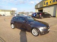 2008 BMW 1 SERIES 2.0 118I M SPORT 3d 141 BHP £5295.00