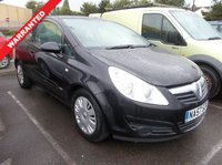 USED 2007 57 VAUXHALL CORSA 1.2 CLUB A/C 16V 3d 80 BHP SERVICED,MOT'D,WARRANTED,VALETED