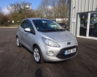 USED 2015 15 FORD KA 1.2 TITANIUM THIS VEHICLE IS AT SITE 1 - TO VIEW CALL US ON 01903 892224