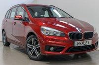 2016 BMW 2 SERIES 2.0 220D SPORT GRAN TOURER 5d AUTO 188 BHP £14990.00