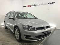 USED 2014 64 VOLKSWAGEN GOLF 1.6 SE TDI BLUEMOTION TECHNOLOGY 5d 103 BHP **ESTATE**£20 ROAD TAX**