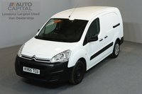 USED 2015 65 CITROEN BERLINGO 1.6 750 LX 89 BHP L2 H1 LWB LOW ROOF ONE OWNER FROM NEW