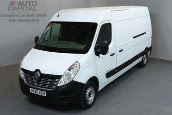 2015 RENAULT MASTER 2.3 LM35 BUSINESS DCI S/R P/V 5d 125 BHP LWB POWER WINDOWS MIRRORS £8990.00