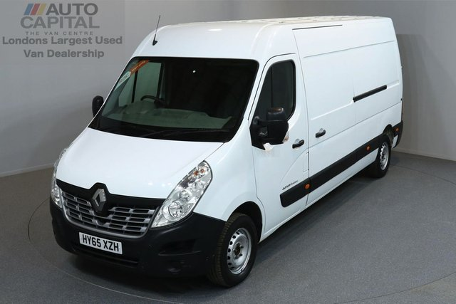 2015 65 RENAULT MASTER 2.3 LM35 BUSINESS DCI S/R P/V 5d 125 BHP LWB POWER WINDOWS MIRRORS ONE OWNER FROM NEW