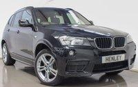 2014 BMW X3 2.0 XDRIVE20D M SPORT 5d AUTO 181 BHP £18490.00