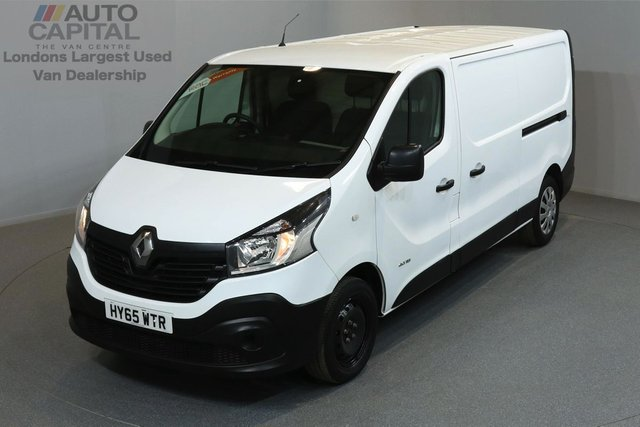 2015 65 RENAULT TRAFIC 1.6 LL29 BUSINESS 115 BHP LWB LOW ROOF ONE OWNER FROM NEW, SERVICE HISTORY