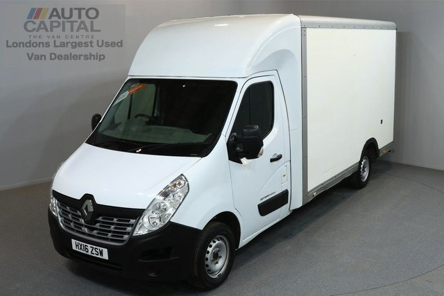 2016 16 RENAULT MASTER 2.3 LL35 BUSINESS 125 BHP L3 LWB LUTON VAN ONE OWNER FROM NEW