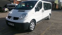 2012 RENAULT TRAFIC 2.0 LL29 DCI 5d 115 BHP 1 OWNER 9 SEATER MINI BUS F/S/H  FREE 12 MONTHS WARRANTY COVER //// NO VAT TO ADD //// £7490.00