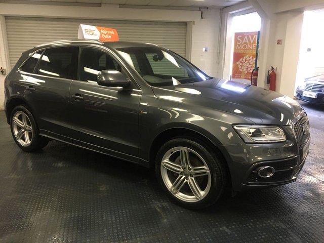 2013 62 AUDI Q5 S/S QUATTRO S LINE PLUS AUTO FACELIFT MODEL