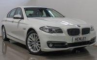 2014 BMW 5 SERIES 2.0 518D LUXURY 4d AUTO 141 BHP £12690.00