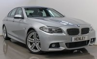 2014 BMW 5 SERIES 3.0 530D M SPORT 4d AUTO 255 BHP £17990.00