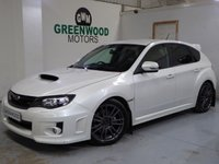 2011 SUBARU IMPREZA 2.5 STI Type UK AWD 5dr £13994.00
