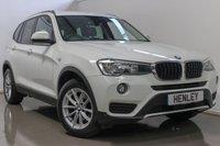 2014 BMW X3 2.0 XDRIVE20D SE 5d AUTO 188 BHP £18490.00