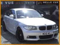 USED 2010 10 BMW 1 SERIES 2.0 118D M SPORT 2d 141 BHP *STUNNING CAR, MUST SEE*