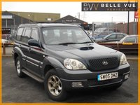 USED 2005 05 HYUNDAI TERRACAN 2.9 CRTD 5dr *13 SERVICE STAMPS*