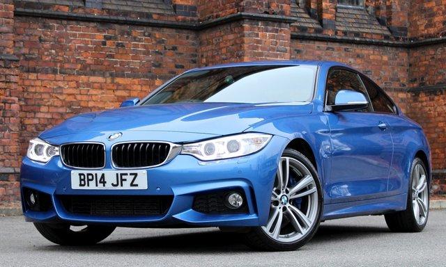 2014 14 BMW 4 SERIES 3.0 435D XDRIVE M SPORT 2d AUTO 309 BHP