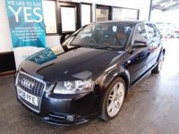 USED 2008 08 AUDI A3 2.0 TDI QUATTRO S LINE 5d 168 BHP This A3 S Line Quattro is Finished in phantom black pearl metallic with black & Tan leather heated seats.  Will be supplied with 12 months Mot (free of advisory notice) & a 6 month warranty which is extendable.  This A3 is fitted with power steering, remote locking, climate control, electric windows and mirrors, bluetooth phone and more and comes with a full service history done by Audi 4 times & independently 3 times.