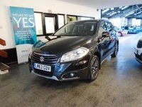 USED 2013 63 SUZUKI SX4 S-CROSS 1.6 SZ5 5d 118 BHP This SX4 S-Cross is finished in metallic black with Black heated leather seats. It is fitted with power steering, Nav/reverse camera, phone connection, panoramic roof, xenon lamps and daytime led's, remote locking, electric windows and mirrors with power fold, climate control, cruise control, Black and Silver alloy wheels, DAB CD Stereo with Aux & Usb ports and more. It has been privately owned from new and comes with a full service history, done 4 times.