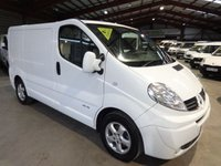 2012 RENAULT TRAFIC 2.0 SL27 SPORT DCI S/R 115 BHP-ONE OWNER- LOW MILEAGE  £8295.00