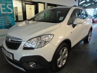 USED 2014 14 VAUXHALL MOKKA 1.7 EXCLUSIV CDTI 5d AUTO 128 BHP This Mokka is finished in Summit White with Black patterned cloth. It is fitted with power steering, remote locking, electric windows and mirrors with power fold, climate control, cruise control, front and rear parking sensors, Bluetooth, alloy wheels, CD Stereo with Aux port and more. It has had one private owners and comes with a service history from Vauxhall.