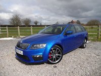 USED 2016 65 SKODA OCTAVIA 2.0 VRS TDI 5d 181 BHP 1 PRIVATE OWNER WITH FULL SKODA SERVICE HISTORY