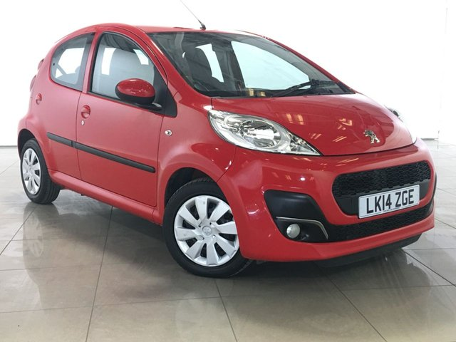 View our 2014 14 PEUGEOT 107 1.0 ACTIVE 5d 68 BHP